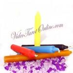 velas-bujia-colores-videotarotonline
